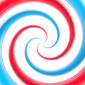 Abstract swirl background made of twirls red and blue glossy Royalty Free Stock Photos
