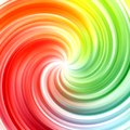 Abstract swirl rainbow colors background Stock Images