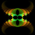 Abstract  symmetrical fractal background Stock Photos