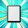 Abstract tablet PC Stock Photo