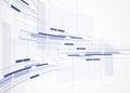 Abstract Tech Background. Futu...