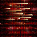 Abstract Techno Circle background. Royalty Free Stock Photo