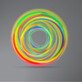 Abstract techno circle background Royalty Free Stock Photo