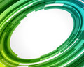 Abstract technology circles Stock Photography