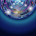 Abstract technology circles background. Royalty Free Stock Image