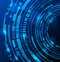 Abstract technology circles background Royalty Free Stock Photo