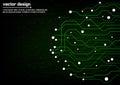 Abstract technology circuit board design Stock Photos