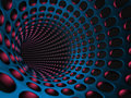 Abstract Technology Tunnel Design Background