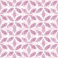 Abstract textile purple ornament geometric Royalty Free Stock Photo