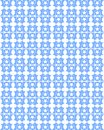 Abstract texture in blue tones with stars an idea for wrapping papers or covers Royalty Free Stock Photo