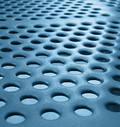 Abstract Texture of metal plates Stock Image