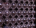Abstract texture of metall balls Royalty Free Stock Photo