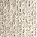 Abstract texture from wooden cubes,