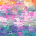 Abstract textured acrylic and watercolor hand painted background Royalty Free Stock Photo