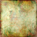 Abstract textured background with roses Stock Image