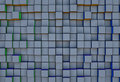 Abstract  three-dimensional cubes  background Royalty Free Stock Photo