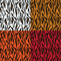 Abstract tiger skin pattern Royalty Free Stock Photo