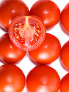 Abstract tomato background Stock Images