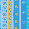 Abstract traditional seamless pattern Stock Photography