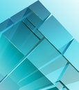 Abstract transparent modules full editable vector illustration Stock Images