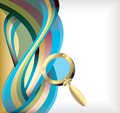 Abstract Treasure Hunt Background 2 Royalty Free Stock Photo