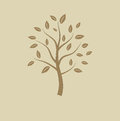 Abstract tree vector illustrtion natura Royalty Free Stock Images