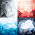 Abstract trendy polygon shape background for desig vector design layout Royalty Free Stock Photos