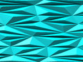 Abstract Triangle Chaotic Pattern Green Blue Background