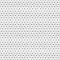 Abstract triangle pattern.Vector background. Repetitive dotted geometric texture.Ordered triangles