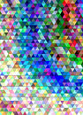 Abstract triangle tile mosaic background design
