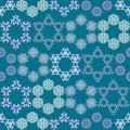 Abstract triangular abstract geometry polygonal shape kaleidoscope logo template vector illustation.