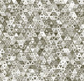 Abstract triangular seamless pattern geometric Royalty Free Stock Images