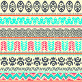 Abstract tribal pattern this is file of eps format Stock Photos