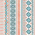 Abstract tribal pattern this is file of eps format Stock Photo