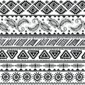 Abstract tribal pattern this is file of eps format Stock Photography