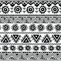 Abstract tribal pattern this is file of eps format Royalty Free Stock Image