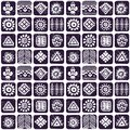 Abstract tribal pattern this is file of eps format Royalty Free Stock Photo