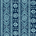 Abstract tribal pattern see my other works in portfolio Royalty Free Stock Image