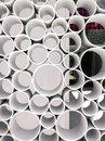 Abstract tube view form. Tubes background Royalty Free Stock Photo