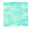 Abstract turquoise watercolor background. Royalty Free Stock Photo