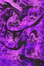 Abstract ultra violet marble artwork
