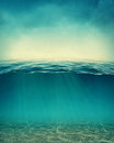 Abstract underwater background Royalty Free Stock Photo