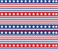 Abstract USA American Patriotic Stars Stripe Pattern Texture Background Royalty Free Stock Photo