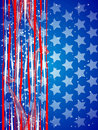 Abstract usa background Royalty Free Stock Photography