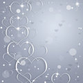 Abstract valentine background Royalty-vrije Stock Afbeeldingen