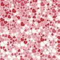 Abstract Valentine`s Day hearts. Seamless background for your design. Vector illustration. Love concept. Cute wallpaper. Good idea Royalty Free Stock Photo