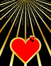 Abstract Valentines Background Royalty Free Stock Images