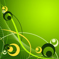 Abstract vector background with circles Stock Images