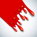 The abstract vector blood background Stock Photo