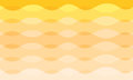Abstract vector curve orange and yellow tone background